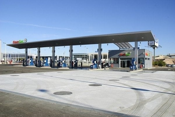 Petrol forecourt insurance