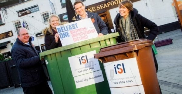ISL Waste Management are thrilled to announce that, after a formal tendering process, we have been appointed as the 'preferred supplier' of waste management services to Belfast City Centre businesses.